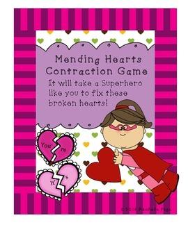 Valentine's Contractions Broken Hearts