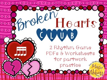 Broken Hearts Club: PDFs and Worksheets to Practice Partwo