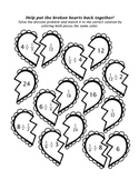 Broken Hearts: Matching Dividing with Fractions