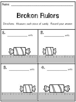 Broken Ruler Worksheet