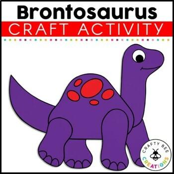 Brontosaurus Cut and Paste