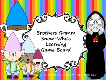 Brothers Grimm Little-Snow White Learning Game Board