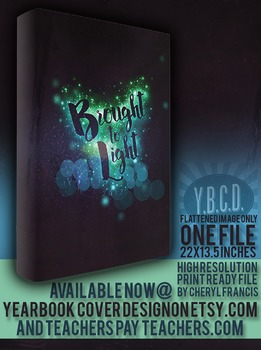 Brought to Light 2017 Yearbook Cover Design
