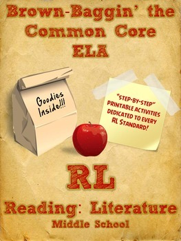 Common Core Reading Literature Printables