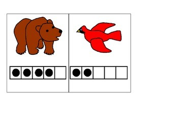 Brown Bear 5 frame game