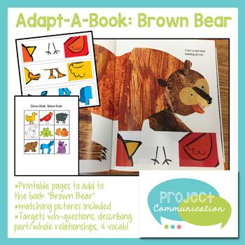 Adapt-A-Book: Brown Bear