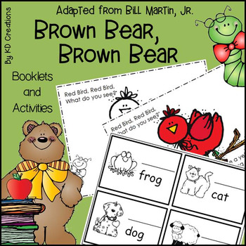 Brown Bear, Brown Bear for Kindergarten * Booklets * Count