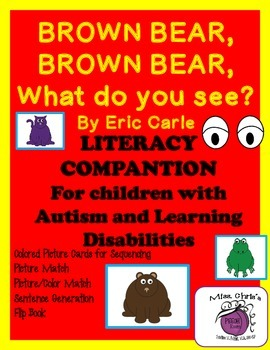 Brown Bear, Brown Bear Lit. Companion for Children with AS