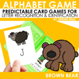 Brown Bear! Brown Bear! ABC Game ~ editable