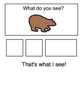 Brown Bear, Brown Bear Story Visual