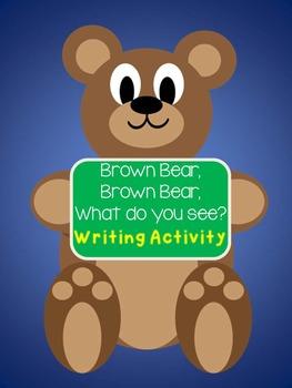 Brown Bear, Brown Bear, Writing Activity