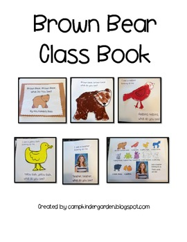 Brown Bear Class Book