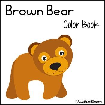 Brown Bear - Color Book