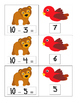 Brown Bear Common Core Subtraction Centers