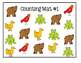 Brown Bear Counting Mats