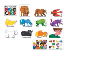 Brown Bear Pictures and PECs like cards for Special Needs