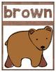 Brown Bear Posters, Crowns, and Sight Word Readers! Editab