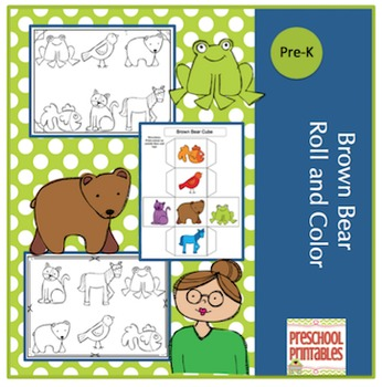Brown Bear Roll and Color
