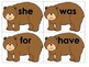Brown Bear Sight Words Word Building Activity Center Daily Five