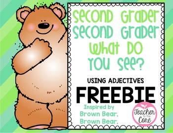 Brown Bear Student Book for Second Grade