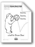 Brown Bear's Ball (letter/sound association for 'b')