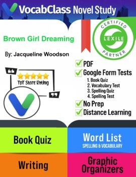 Brown Girl Dreaming by Jacqueline Woodson Novel Study | QU