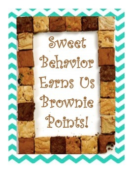 Brownie Classroom Behavior Incentive