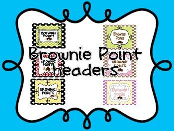 Brownie Points Headers