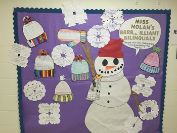 Brrr...iliant Bilinguals Bulletin Board