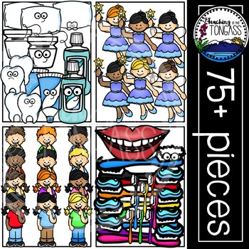 Teeth Clipart Bundle