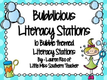 BuBblicious Literacy Stations / Centers