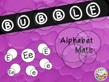 Bubble Alphabet Mats