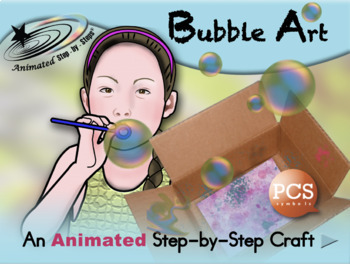 Bubble Art - Animated Step-by-Step Recipe/Craft PCS