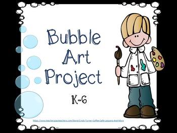 Bubble Art Project