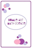 Bubble Art using Math and Science