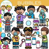 Kids Bubble Clip Art