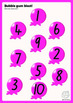 Maths Centre Game: Bubble Gum Blast- numeral identificatio