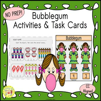 Bubblegum Worksheets Activities Games Printables and More