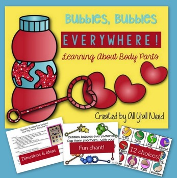 Bubbles, Bubbles Everywhere! Learning About Body Parts