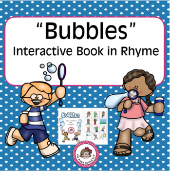 """Bubbles"" Interactive Book in Rhyme"
