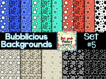 Bubblicious Backgrounds {Set #5}