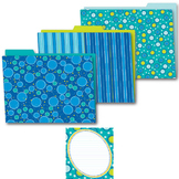 Bubbly Blues Office Decor Set SALE 20% OFF 144933