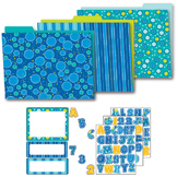 Bubbly Blues Organization Set SALE 20% OFF 144924