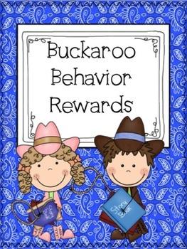 Buckaroo Behavior Incentives - Positive Behavior