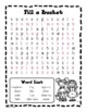 Bucket Filler - Word Search