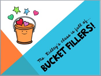 Bucket Fillers Power Point Game
