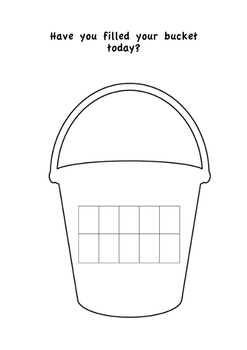 Bucket Filling Behaviour Chart