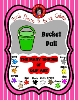 Bucket / Pail ~ Accommodate the Letter B or P with this pi
