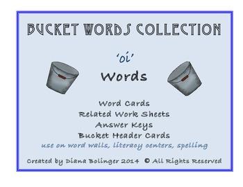 Bucket Words - Word Groups