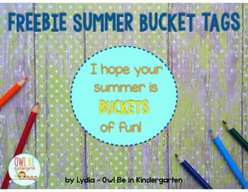 Buckets of Fun Freebie Tag